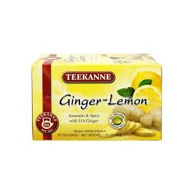 Teekanne Ginger Lemon 20Tea Bags, 35g