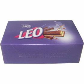 Milka Leo Alpine Milk Chocolate 4 Finger Bar (32 * 33g)