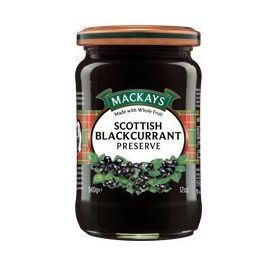 Mackays Scottish Blackcurrant Preserve, 340g