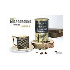 Percol Barista Gold Ground Arabica Coffee Bottle Strength No 4, 100g