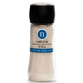 n Natural Coarse Sea Salt Seasoning With Grinder, 415g