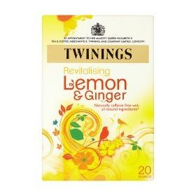 Twinings Lemon & Ginger Tea, 20 Tea Bags, 30g