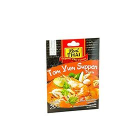 Real Thai Tom Yum Paste, 50g pack of 2