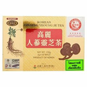 Gae Poong Korean Ginseng Gingko Tea Box ( 50 X 3g ), 150g