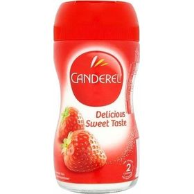 Canderel Low Calorie Sweetener Bottle, 75g