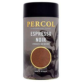 Percol Black & Beyond Dark & Intense Espresso Coffee, 100g