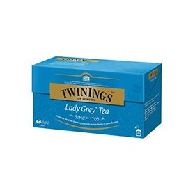 Twinings of London, Lady Grey Tea, 25 Tea Bags (Imported from UK)