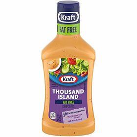 Kraft Fat Free Thousand Island Dressing, 473ml