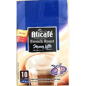Alicafe French Roast Skinny Latte Low Fat Box (10 X 14.5g) 145g