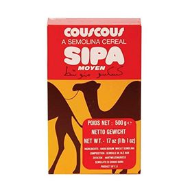 Sipa Couscous Semolina Cereal - 500 Grams