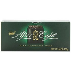 Nestle After Eight Mint Chocolate Thins, 200g and Silver Plated Coin
