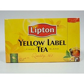 Lipton Yellow Label Tea Finest Blend Quality No 1, 150 Tea Bags Black Tea 300g