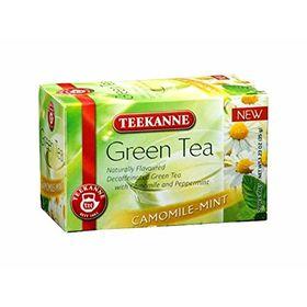 Teekanne Camomile Mint Decaffeinated Green Tea 20 Tea Bags, 35g