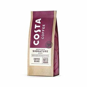 Costa Coffee Mocha Italia Signature Blend Coffee Beans Medium Strength No-3 Packet, 200g