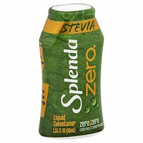 Splenda Stevia Zero Calories Sugar Free Liquid Sweetener, 50ml