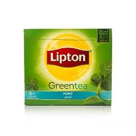 Lipton Green Tea Mint, 150g - 100 Tea Bags