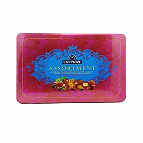 Sapphire Assortment Fruit & Nut Covered in Milk Choco, 350gm