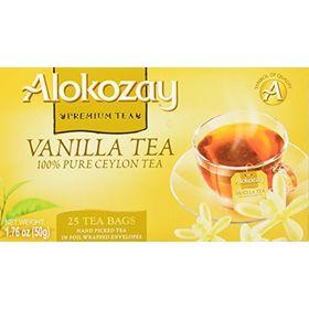 Alokozay Premium Tea Vanilla Tea 25 Tea Bags, 50g