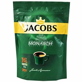 Jacobs Monarch Instant Coffee Packet 70g