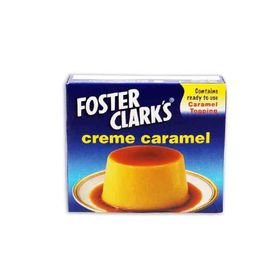 Foster Clarks Creme Caramel Mix and Topping, 71 g