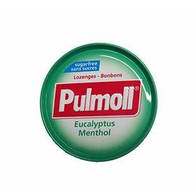 Pulmoll Sugar Free Lozenges Eucalyptus Menthol, 45g