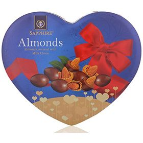 Sapphire Chocolate Covered Almonds, 160 Grams