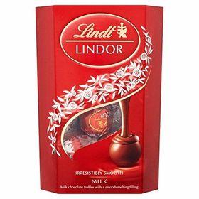 Lindt Lindor Exotic Milk Truffles Chocolate Gift Box 200g