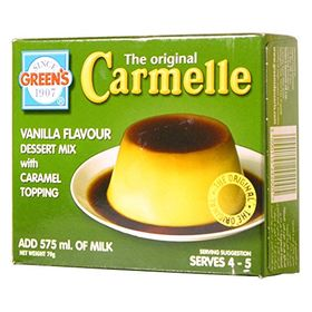 Green's Carmelle Vanilla Flavour Dessert Mix with Caramel Topping, 70g