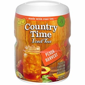 Country Time Iced Tea Peach Harvest Jar, 538g