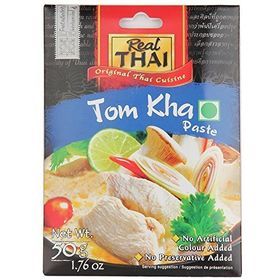 Real Thai Tom KHA Paste (Pack of 2), 50g
