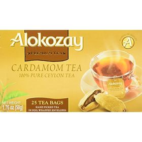 Alokozay Premium Tea Cardamom Tea 25 Tea Bags, 50g