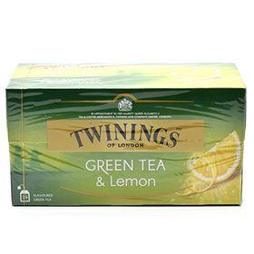 Twinings Green Tea & Lemon 25 Tea Bags,40g