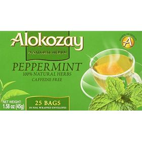Alokozay Peppermint 25 Tea Bags, 45g