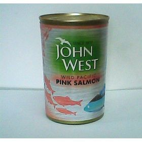 John West Wild Pacific Pink Salmon, 418g