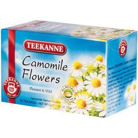 Teekanne Camomile Flowers Pleasant & Mild 20 Tea Bags, 30g