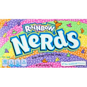 Wonka Nerds Rainbow Th Box, 141.7g