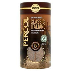 Percol Rainforest Alliance Classic Italiano Instant Coffee 100g
