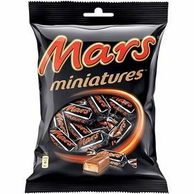 Mars Miniatures Chocolate 15 Pcs Packet (Pack of 2), 150g