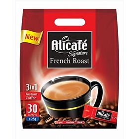 Alicafe Signature French Roast 3 in1 Instant Coffee (30*25g), 750g