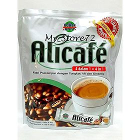 Alicafe 4 In 1 Instant Coffee No Sugar Added, 240g
