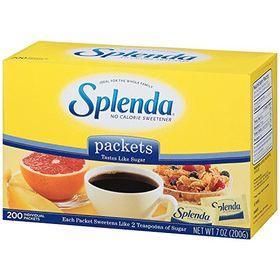 Splenda No Calorie Sweetener 200 Pkt, 200g
