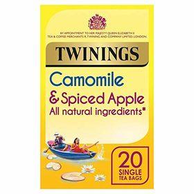 Twinings Camomile & Spiced Apple Tea 20 Tea Bags, 25g