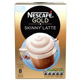 Nestle Nescafe Gold Skinny Latte Coffee 8 Mugs, 156 g