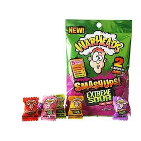 WarHeads Smashups ! Extreme Sour Assorted Hard Candy Packet 56g