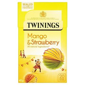 Twinings Mango & Strawberry 20 Tea Bag, 40g