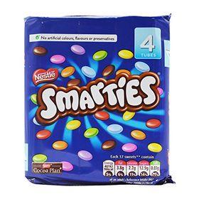 Nestle Chocolate Smarties 4 Pk, 152g