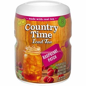 Country Time Iced Tea Raspberry Jar, 538g