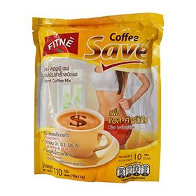 Fitne Coffee Save Instant Coffee Mix - 110g (10x11g)