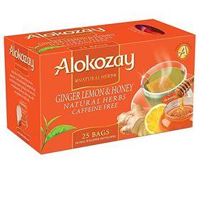 Alokozay Ginger Lemon & Honey Tea 25 Tea Bag, 45g