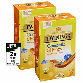 Twinings Camomile & Honey Tea - 20 Tea bags (30g)